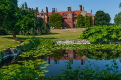 Ingatestone Hall, View from the Long Pond