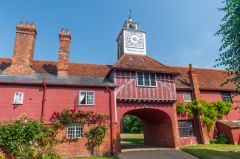 Ingatestone Hall, The magnificent gatehouse to Ingatestone