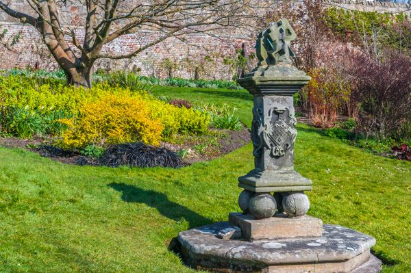 Inveresk Lodge Garden photo, An ornate sundial