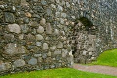 Old Inverlochy Castle, The entrance gate