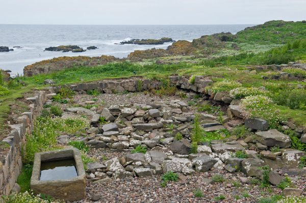 Isle of May Priory, St Adrian's Chapel photo, Original church site