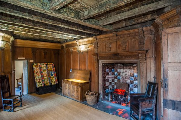 John Knox's House photo, Second floor panelled chamber