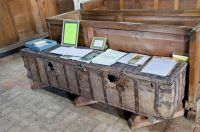 Kedington, St Peter & St Paul's Church, 16th century parish chest