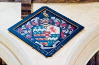 Kedington, St Peter & St Paul's Church, Barnardiston hatchment
