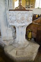 Kedington, St Peter & St Paul's Church, 15th century font