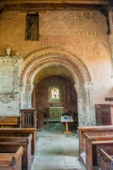 Kempley, St Mary, The Romanesque chancel arch