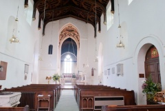 Nave of St Mary's Church, Kempsford