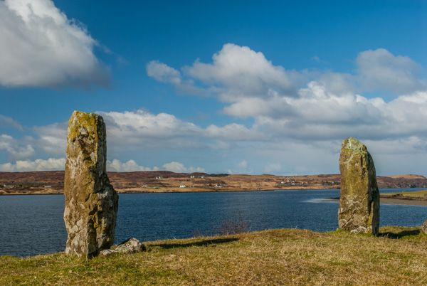 Trotternish Peninsula photo, Kensaleyre standing stones