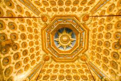 The Cupola Room ceiling