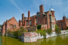 Long Melford, Kentwell Hall and moat