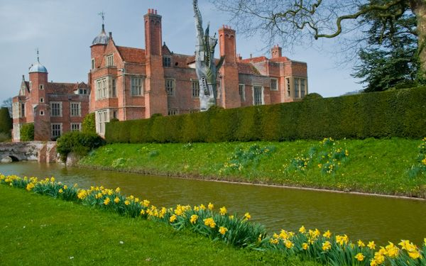Kentwell Hall photo, The hall and moat