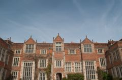 Kentwell Hall, The entrance frontage
