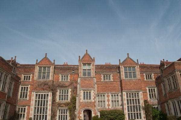 Kentwell Hall photo, The entrance frontage