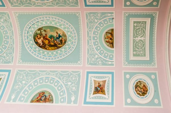 Kenwood House photo, The library ceiling