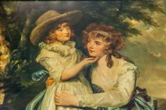 Miss Cocks and Her Niece by Sir Joshua Reynolds