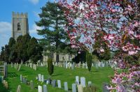 Kersey, St Mary's Church, Church exterior