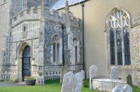 Kersey, St Mary's Church, South porch