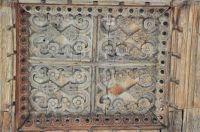 Kersey, St Mary's Church, Porch carved panel