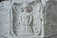 Kersey, St Mary's Church, Font carving