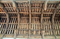 Kersey, St Mary's Church, Angel roof
