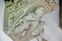 Kersey, St Mary's Church, Stone corbel 2