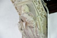 Kersey, St Mary's Church, Stone corbel