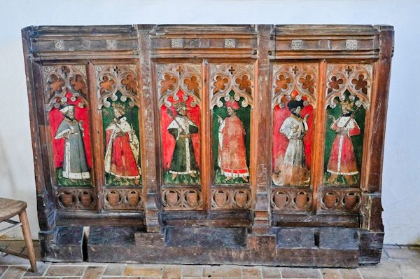 Kersey, St Mary's Church photo, Medieval screen
