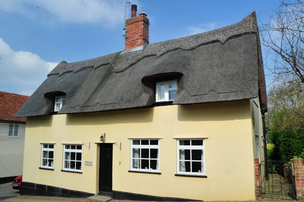 Kersey photo, Thatched cottage