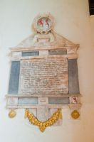17th century wall monument