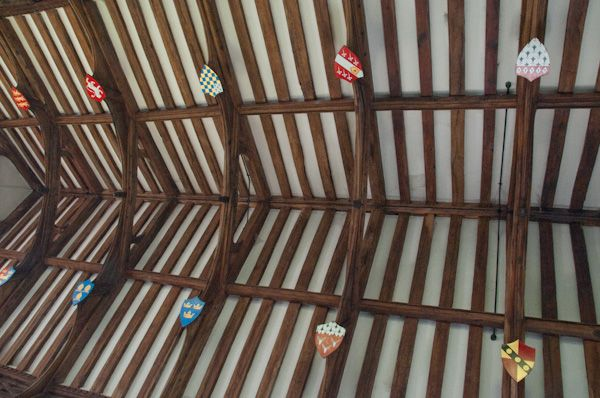 Kettleburgh, St Andrew's Church photo, Victorian nave roof
