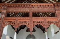 Rood screen tracery