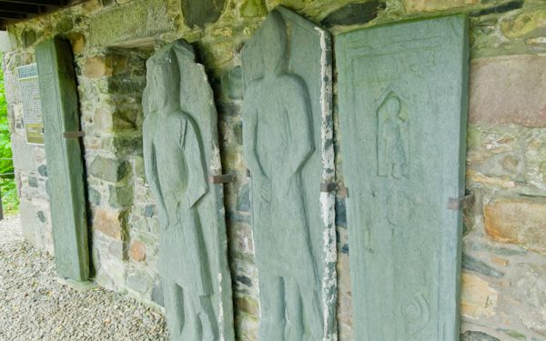 Kilberry Sculptured Stones photo, Grave slabs