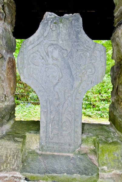 Kilberry Sculptured Stones photo, Weathered cross head