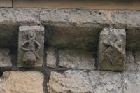 Norman frieze carvings