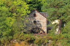 Loch Tay, An old mill at Killin