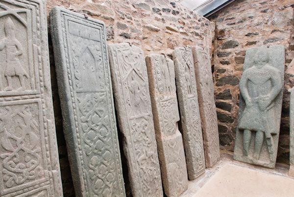 Kilmartin Sculptured Stones photo, Inside the enclosure 2