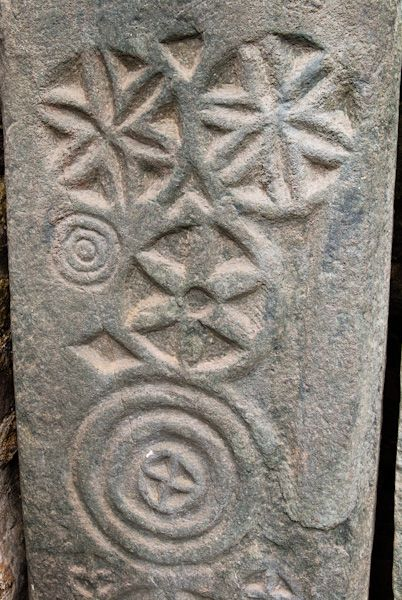 Kilmartin Sculptured Stones photo, Symbol carvings