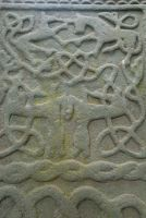 Kilmodan Sculptured Stones, Loch Awe slab detail - unicorn