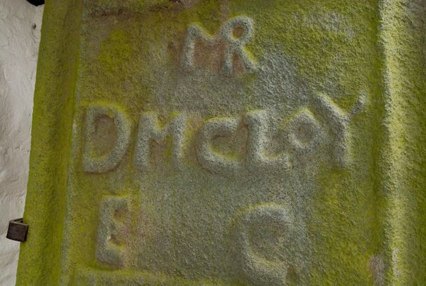 Kilmodan Sculptured Stones photo, D McCloy grave slab