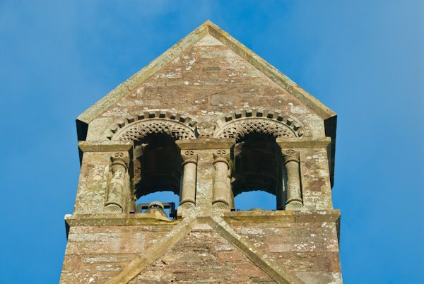 Kilpeck Church photo, Bell turret