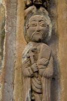 Chancel arch carving 2