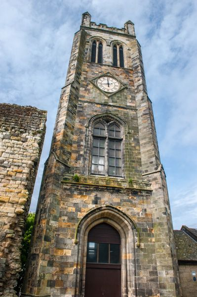 Kilwinning Abbey photo, The rebuilt bell tower