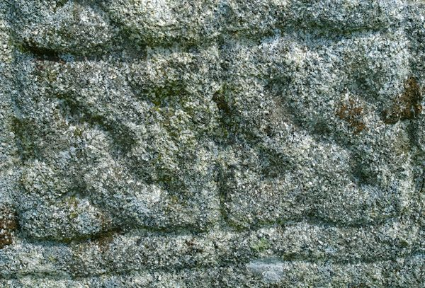 King Doniert's Stone photo, Carving detail 2