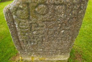 Inscription on Doniert Stone