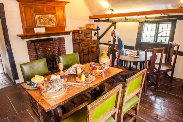 King John's House and Heritage Centre photo, The dining room