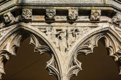 Spandrel carving - The Flagellation