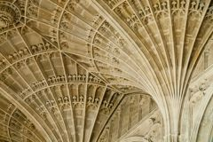 Detail of the fan vaulting