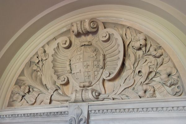 Kingston Lacy photo, Coat of Arms