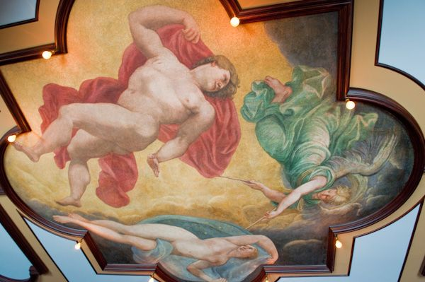 Kingston Lacy photo, Painted ceiling
