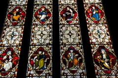East window stained glass